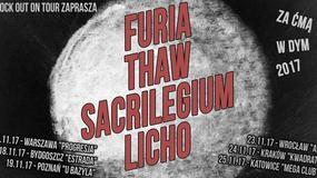 Furia, Thaw, Sacrilegium i Licho we wspólnej trasie po Polsce