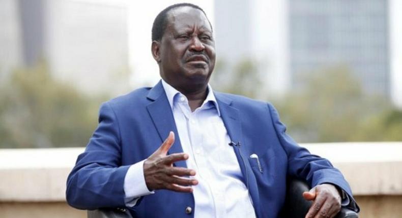 Orange Democratic Movement leader Raila Odinga