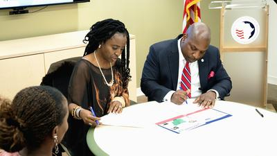Lagos State secures a $10 million partnership with the United States African Development Foundation to train 15,000 youths in 5 years