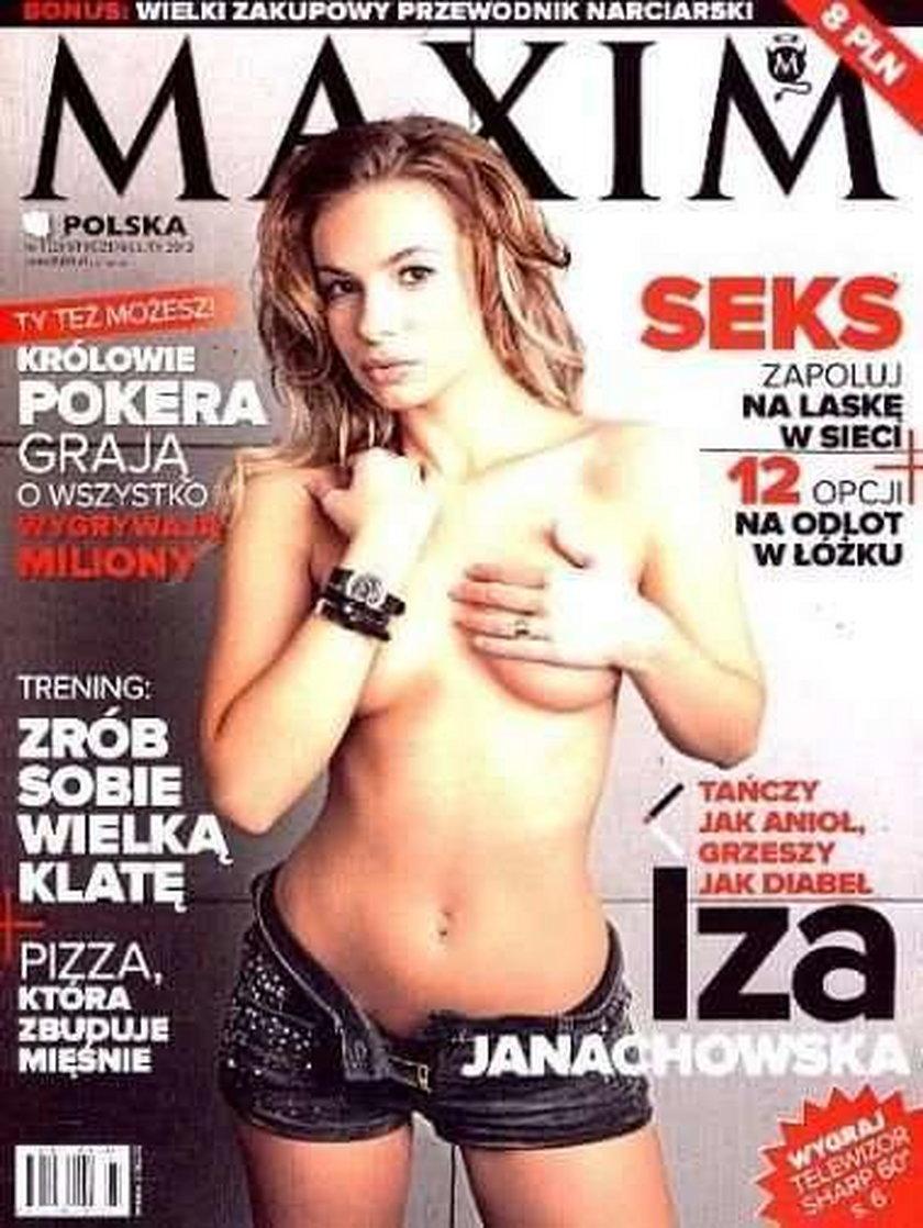 Izabela Janachowska Maxim styczeń 2012