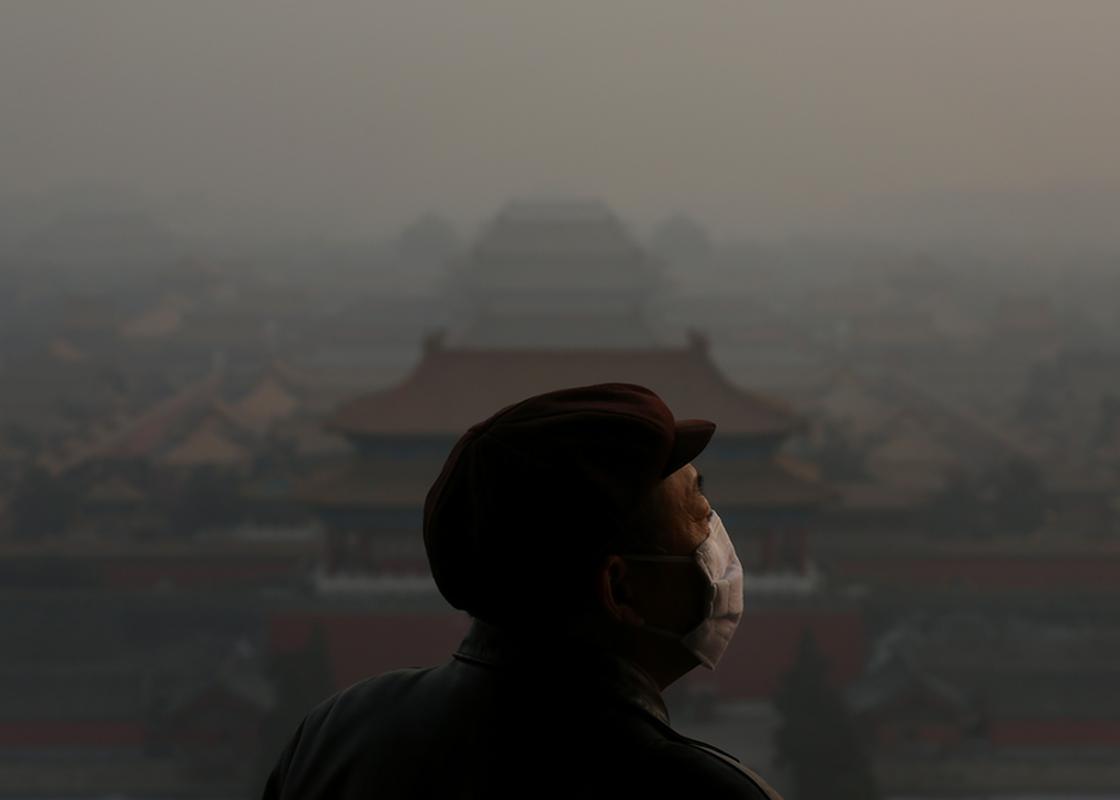Chiny cierpią obecnie z powodu zanieczyszczenia powietrza
