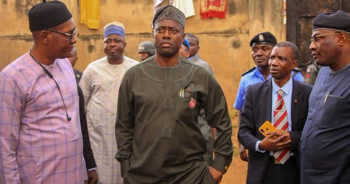 Makinde orders demolition of Ibadan torture centre where police rescued over 259 captives - Pulse Nigeria