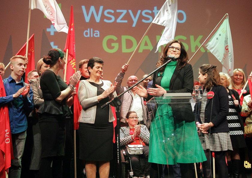 Zwycięstwo Dulkiewicz