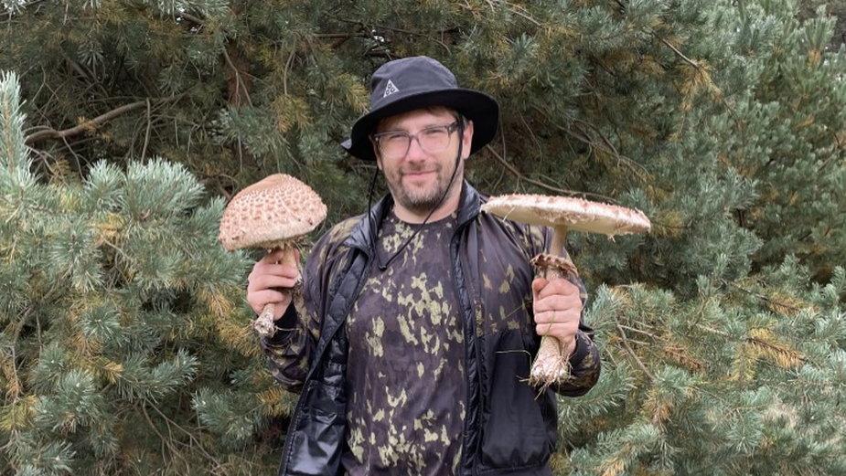 Dawid Zalesky jest mykofilem