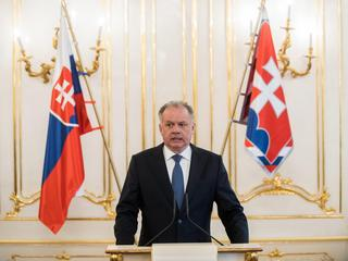 Slovakia's President Kiska reacts on murder of journalist Kuciak