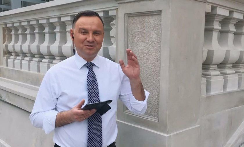Andrzej Duda przyłączył się do rapowania