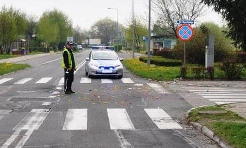 Motocyklista potrącił 10-letnie dziecko i uciekł