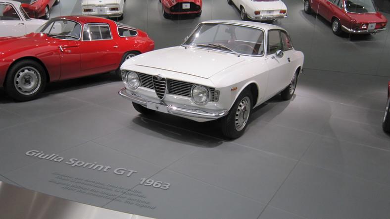 Alfa Romeo Giulia Sprint GT z 1963