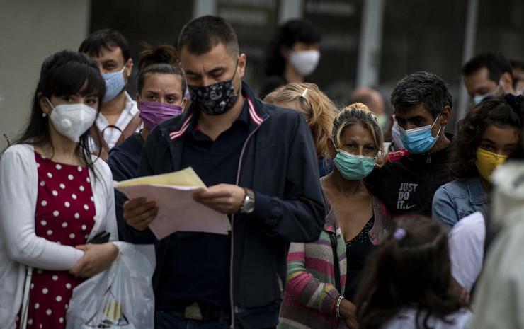 Korona virus u Bugarskoj EPA VASSIL DONEV
