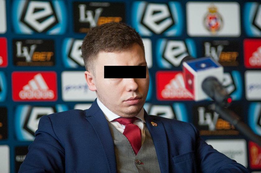 Były wiceprezes Wisły Kraków Damian D. zatrzymany za narkotyki przez CBŚP