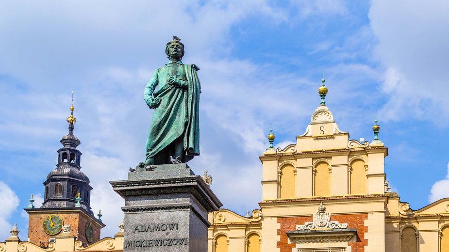 Pomnik Mickiewicza w Krakowie