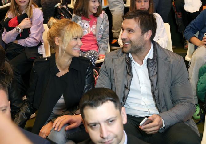 Nataša i njen bivši suprug Ljuba Jovanović
