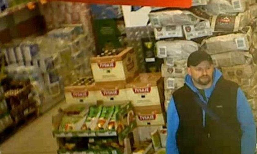 Napadł na sklep w Wadowicach. Policja szuka sprawcy