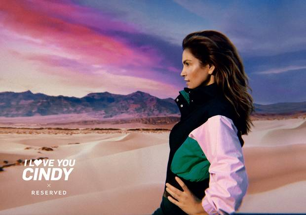Cindy Crawford twarzą Reserved