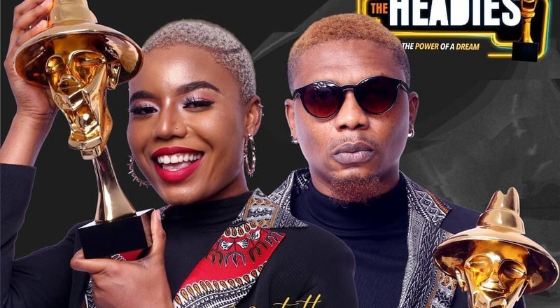 Nancy Isime and Reminisce to host 2019 Headies
