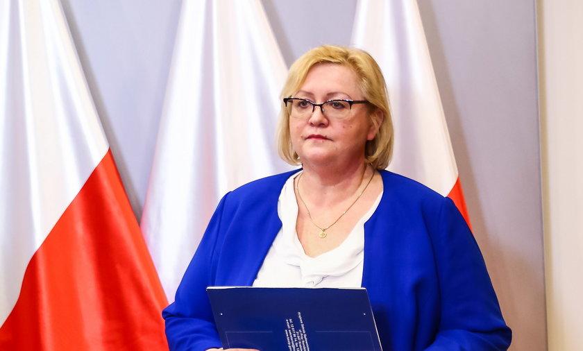 Małgorzata Manowska poprosiła najwyższe władze w Polsce o zmianę przepisów dotyczących Izby Dyscyplinarnej SN.
