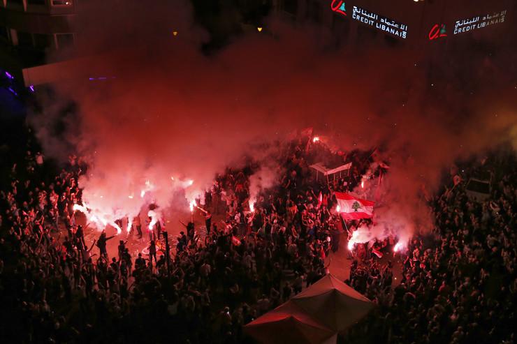 Liban, demonstracije