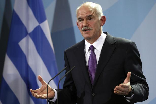 Premier rządu greckiego George Papandreou
