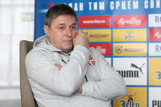 Dragan Stojković Piksi, selektor fudbalske reprezentacije Srbije