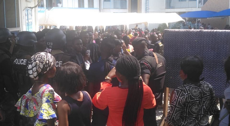 Chaos at GIJ; police storm campus following protest