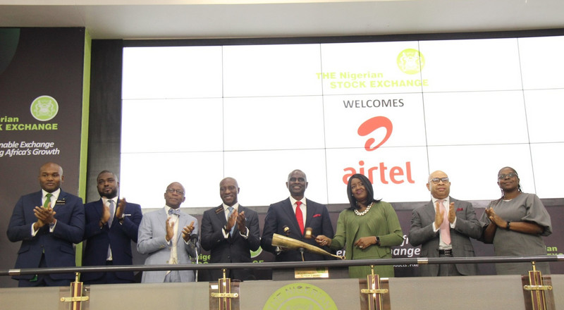 Airtel Africa Plc lists 3.7 billion shares to join NSE Main Board