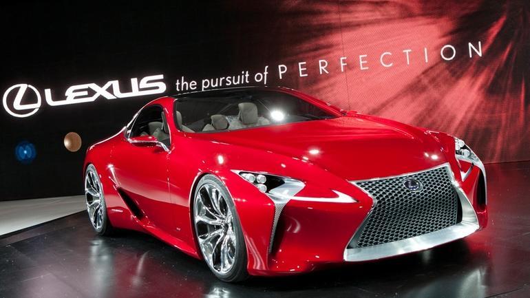 Koncepcyjny Lexus LF-LC w pełnej krasie