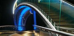 Świecący most nad Bystrzycą