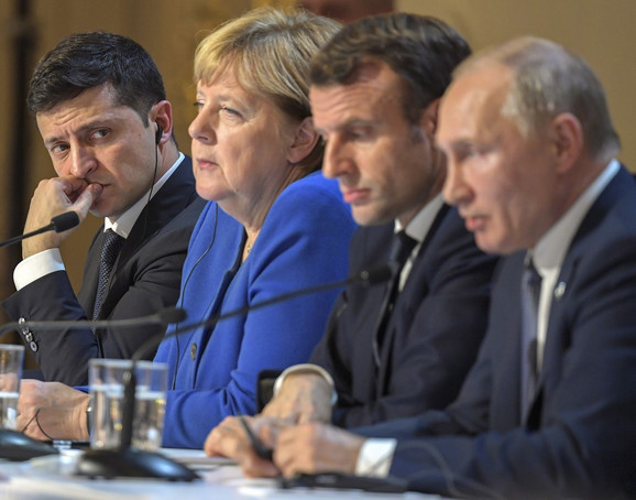Nedavni sastanak Normandijske četvorke