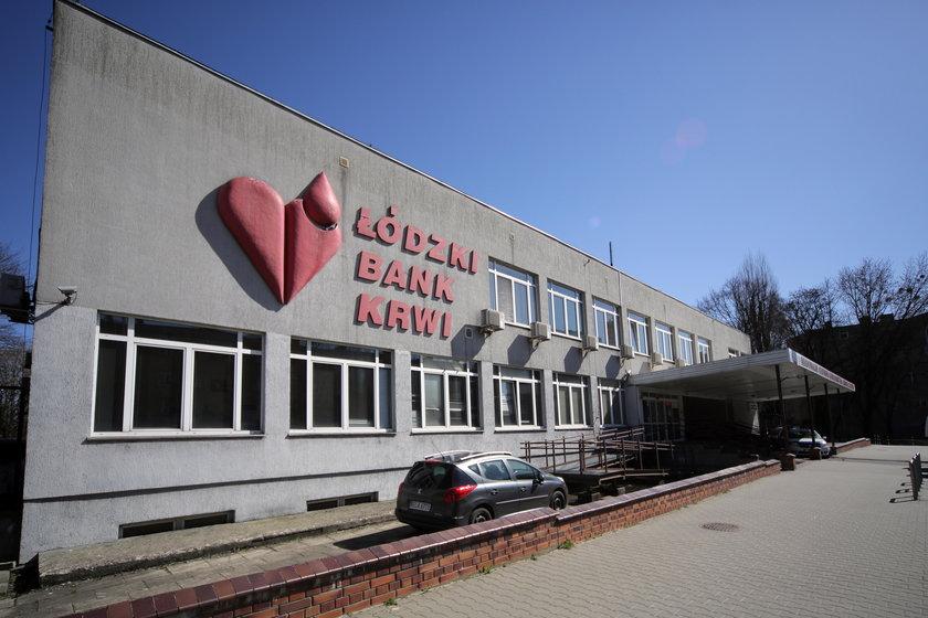 Siedziba łódzkiego Centrum Krwiodawstwa