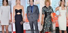 Gwiazdy na eleganckiej premierze filmowej