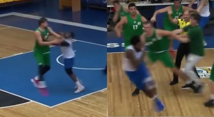 Tuča košarkaša