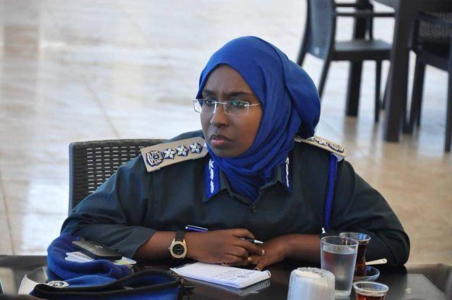 Brig General Deputy Police Commissioner Somali Police Force, Zakia Hussen.