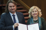 Laslo Blašković i Dragana Tipsarević, Dan Narodne biblioteke Beograd i dodela nagrada Janko Šafarik