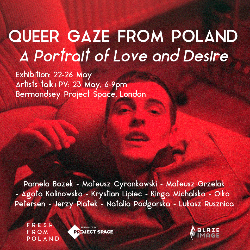 "Wystawa ""Queer Gaze from Poland. A Portrait of Love and Desire"""