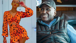 Huddah Monroe reveals Chris Kirubi had a hand in her Cosmetics Business