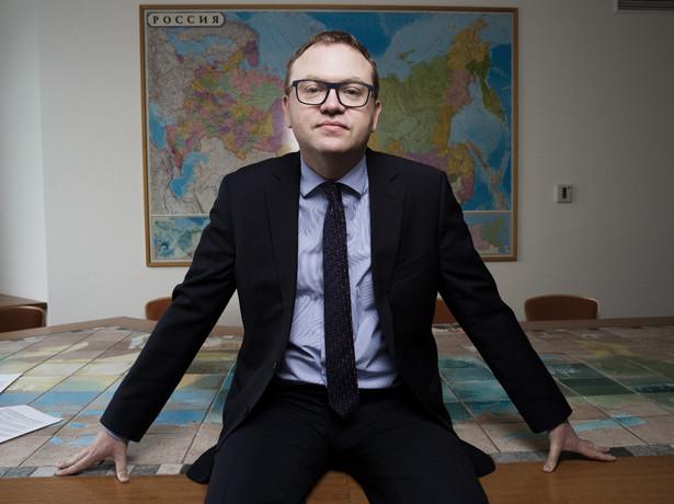Adam Eberhardt – politolog, dyrektor Ośrodka Studiów Wschodnich