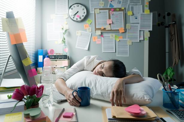 praca, stres, zmęczenie