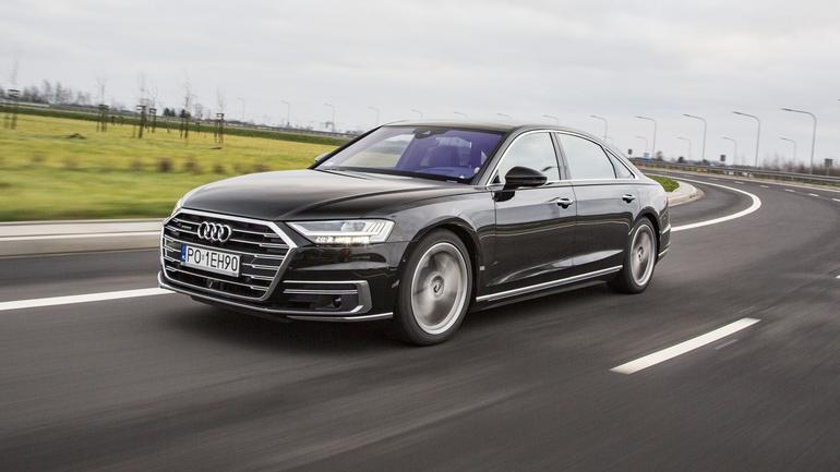 Audi A8 L 55 TFSI quattro - dotyk luksusu