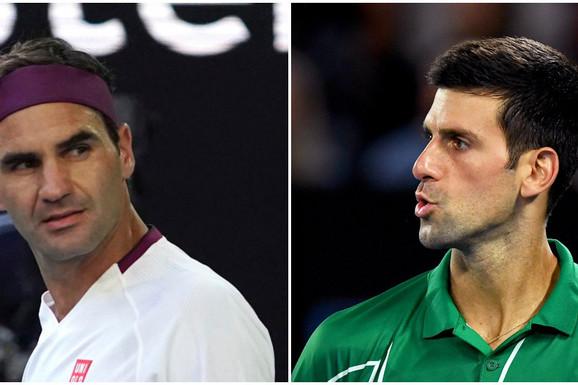 """FEDERER GLEDA I """"ČUPA KOSU""""! Istorijski trenutak, ATP je """"prelomio"""": Novak Đoković obara Rodžerov svetski rekord i više ništa ne može da ga spreči u tome!"""