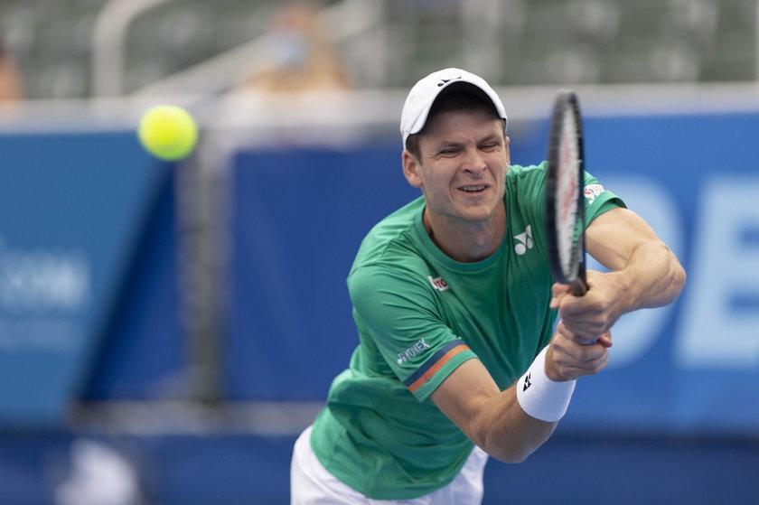 Turniej ATP w Delray Beach. Hubert Hurkacz w finale!