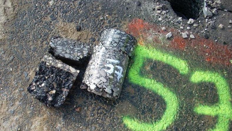 Ile szczelin na autostradzie A2 zostało do naprawienia