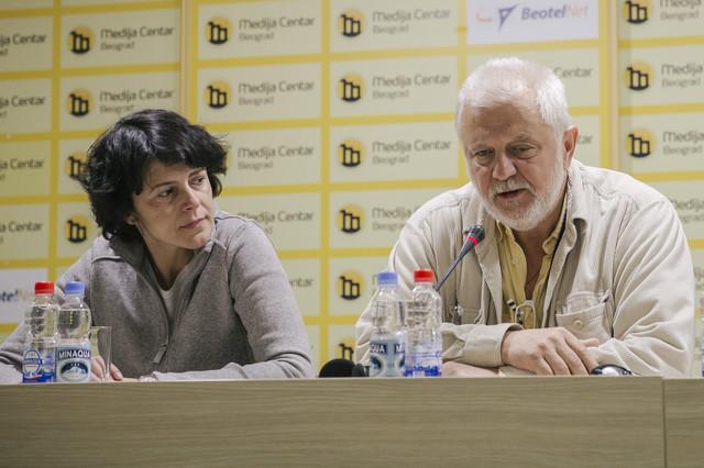 Nataša Drakulić i Predrag Gaga Antonijević