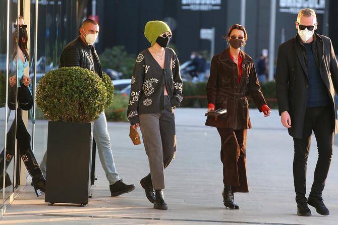 Điđi i Bela Hadid u Milanu