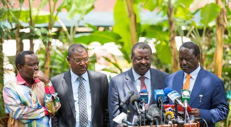 Raila reveals the day NASA ceased to exist