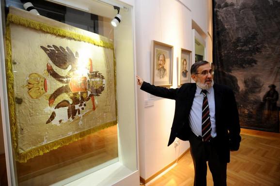 Istoričar Nebojša Damnjanović jedan od autora izložbe
