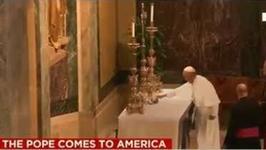 Papież Franciszek wykonał sztuczkę na ołtarzu? Tego chyba nikt się nie spodziewał