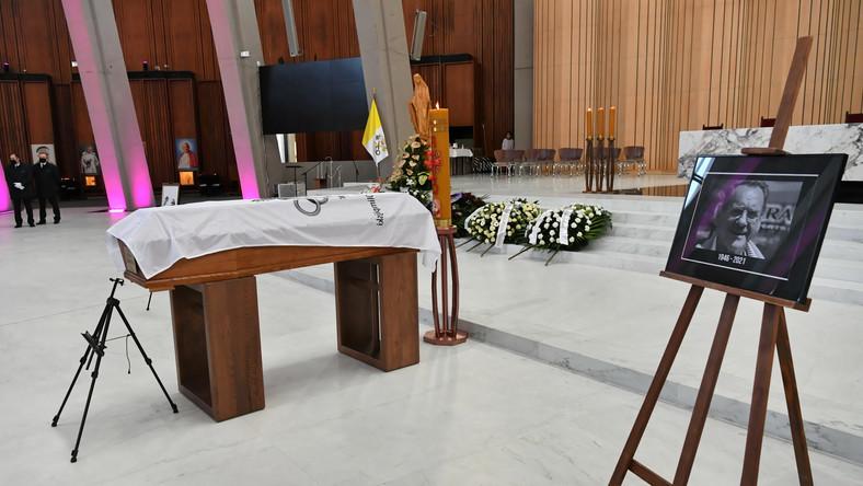 Msza Święta odprawiana w intencji Ryszarda Szurkowskiego w Świątyni Opatrzności Bożej w Warszawie
