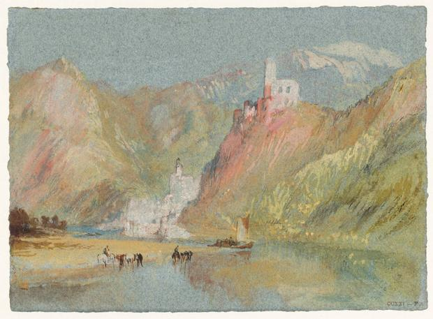 Beilstein i Burg Metternich, Joseph Mallord William Turner