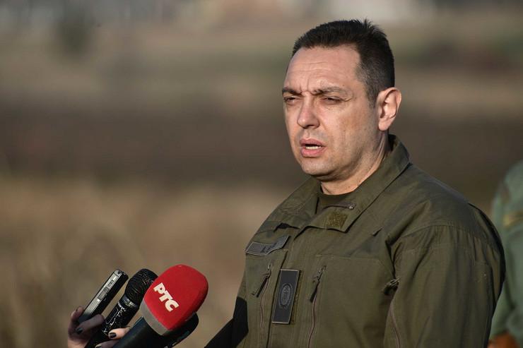 Aleksandar Vulin, Tanjug, Ministarstvo odbrane