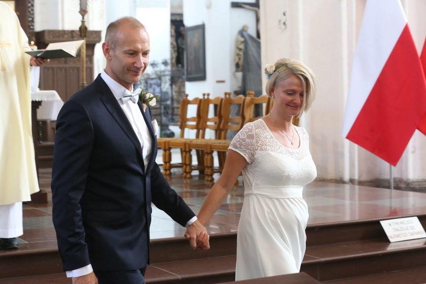 Ślub Magdaleny Wałęsy